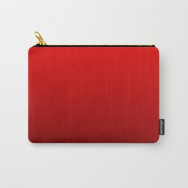 Red Devil Hell and Black Deadly Ombre Nightshade Carry-All Pouch
