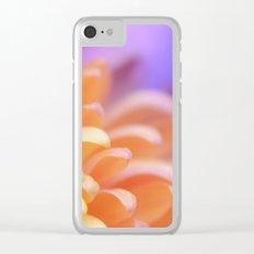 Flower Sunrise Clear iPhone Case