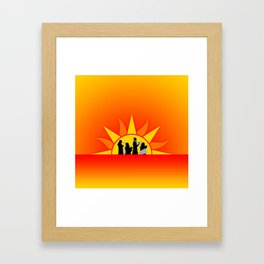 The Marching Dawn Framed Art Print