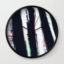 First shadow Wall Clock