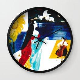 Madam Butterfly                                     by Kay Lipton Wall Clock