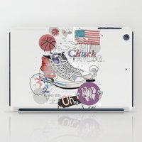chuck iPad Cases featuring The Chuck Taylor by Frances Beale