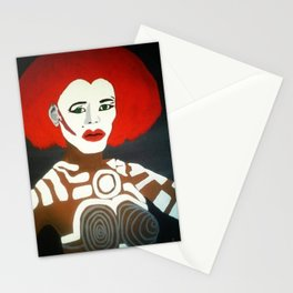 Grace Jones as Katrina Stationery Cards