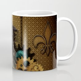 Steampunk, awesome steampunk horse Coffee Mug