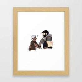 Fenhawke argument? Framed Art Print