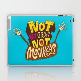 Not My Circus, Not My Monkeys Laptop & iPad Skin