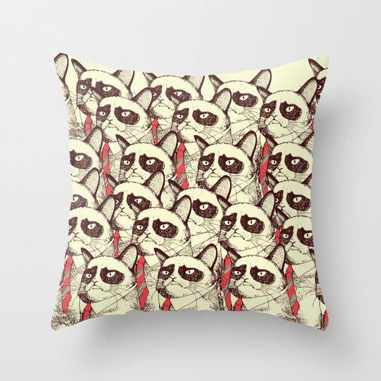 OH NO! Monday Again! Throw Pillow