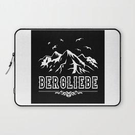 Bergliebe Retro - Wandern Bergsteiger Design Motiv Laptop Sleeve