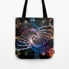 Astral Connection Tote Bag