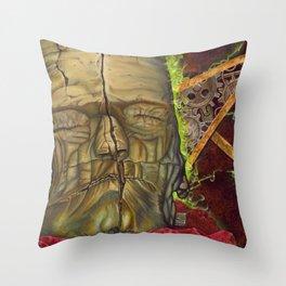 Monster Throw Pillow