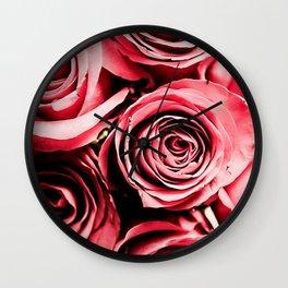 Moonlight & Roses Wall Clock