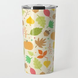 Thanksgiving pattern Travel Mug