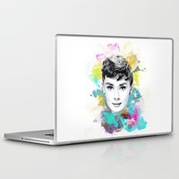audrey Laptop & iPad Skins featuring Audrey by Featured Interiors