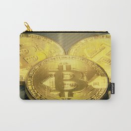 Bitcoins macro big round mojo Carry-All Pouch