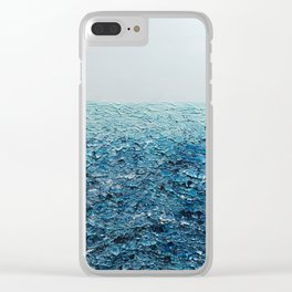 Saline Waters Clear iPhone Case