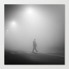 MAN IN THE MIST Canvas Print
