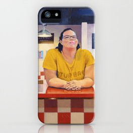 Blanca at Five Guys iPhone Case