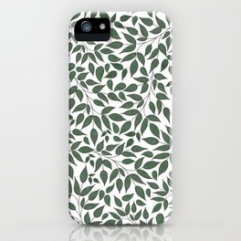 Foliage. iPhone Case