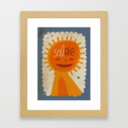 solRie Framed Art Print
