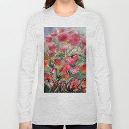 Flowers in the corner Long Sleeve T-shirt