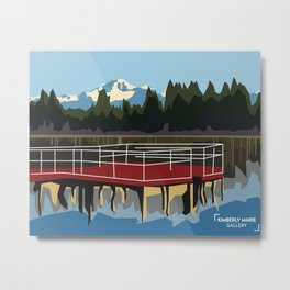 Mill Lake - Abbotsford BC Metal Print
