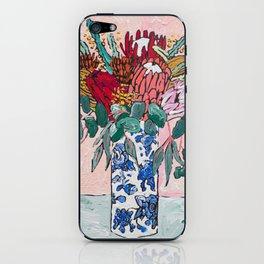 Australian Native Bouquet of Flowers after Matisse iPhone Skin