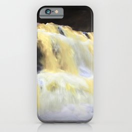 Abstract Waterfall iPhone Case