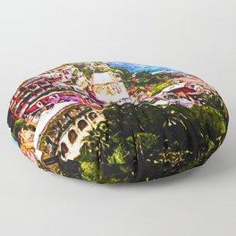 Amalfi, Italy Floor Pillow