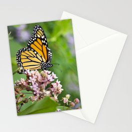 Colorful Monarch Butterfly Stationery Cards