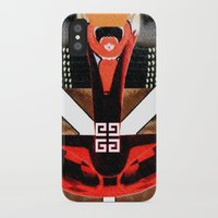 givenchy iPhone & iPod Cases featuring Givenchy panel with masai print by Le' + WK$amahoodT Boutique by Paynasa®