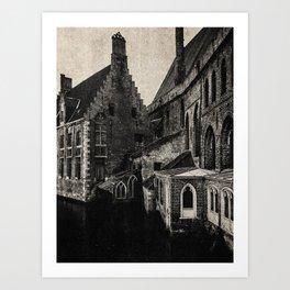 NOIR CITY / Once Upon Art Print