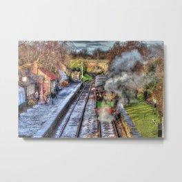 Tantobir Railway Metal Print