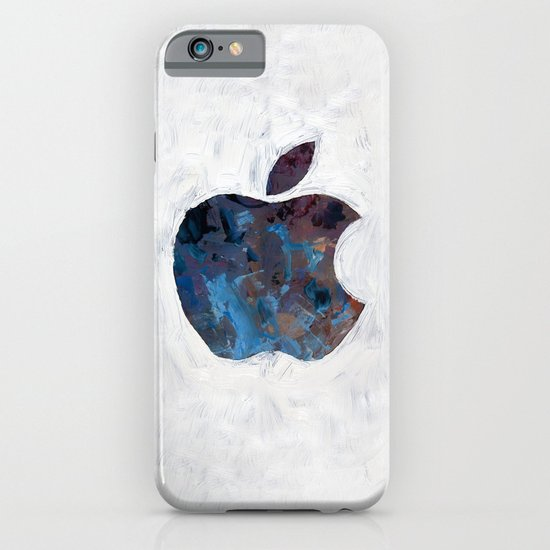 Painted Apple iPhone & iPod Case