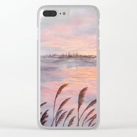 Abstract nature 03 Clear iPhone Case