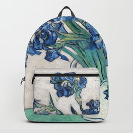 Irises II - Vincent Van Gogh Backpack