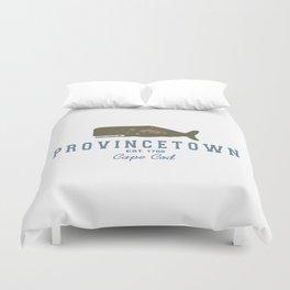Provincetown - Cape Cod. Duvet Cover