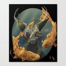 Fate fish  Canvas Print