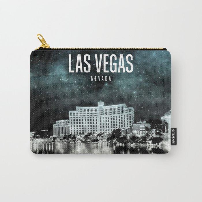 Las Vegas Wallpaper Carry-All Pouch