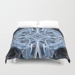 9053 Spirit Work by Chris Maher Unique Sensual Photographs of Smoke, Fire and Water Duvet Cover