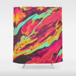 LILAC WINE Shower Curtain