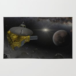 New Horizons space probe fly into Kuiper belt Rug