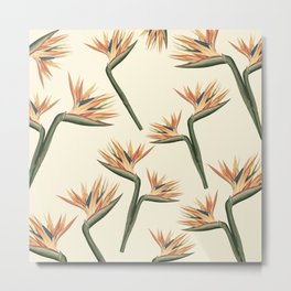 Birds of Paradise Flowers Metal Print