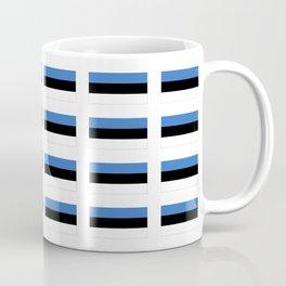 Flag of estonia -estonian,baltic,tallinn,tartu,eesti,balti,slav,viking,baltico,parnu Coffee Mug