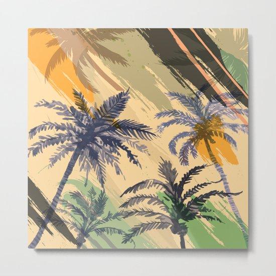 Palm Beach, summer Metal Print