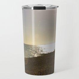 Spring Sunset by the Sea Travel Mug