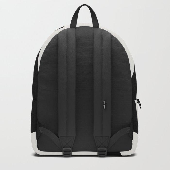 black triangle pattern II Backpack