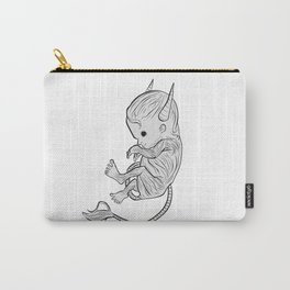 Little Devil (white version) Carry-All Pouch