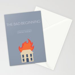 The Bad Beginning Stationery Cards