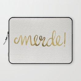 Pardon My French – Gold Ink Laptop Sleeve