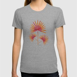Fan Palm in Watercolor | Shades of Red T-shirt